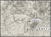 渋沢丘陵散策路図